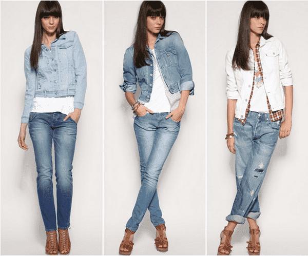 Джинсовые пиджаки женские