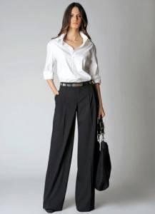 брюки для прямоугольника