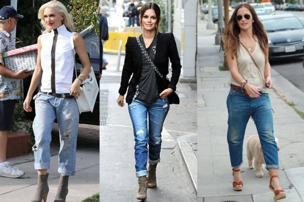 носим джинсы с отворотами
