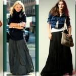 с чем носить юбки