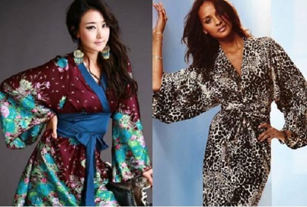 рукав кимоно