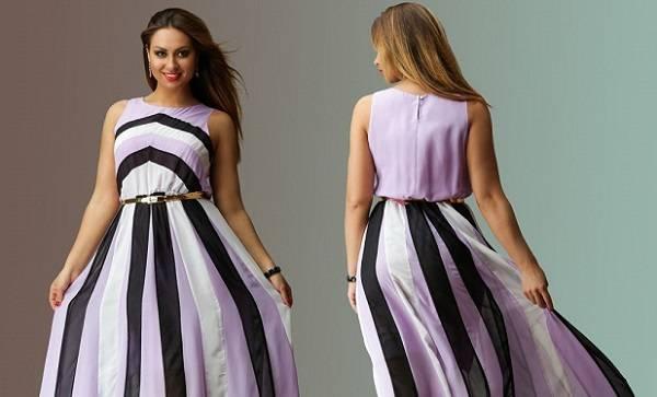 штапель платье
