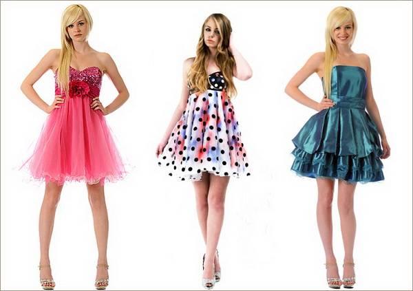 Платье бэби-дол