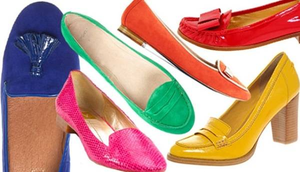 яркая обувь для женщин в возрасте