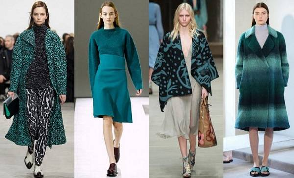 цвет морсокй волны мода 2015