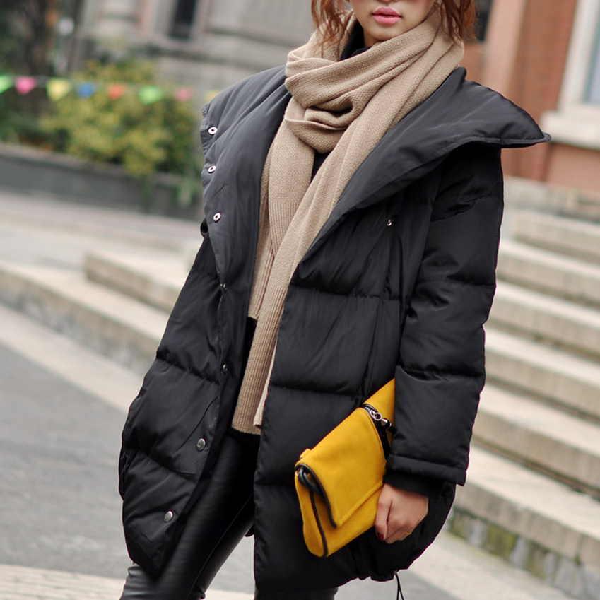 Шарф с черной курткой