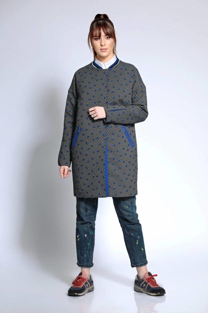 Пальто из джерси